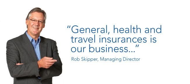 General, health & travel insuranes is our business ...